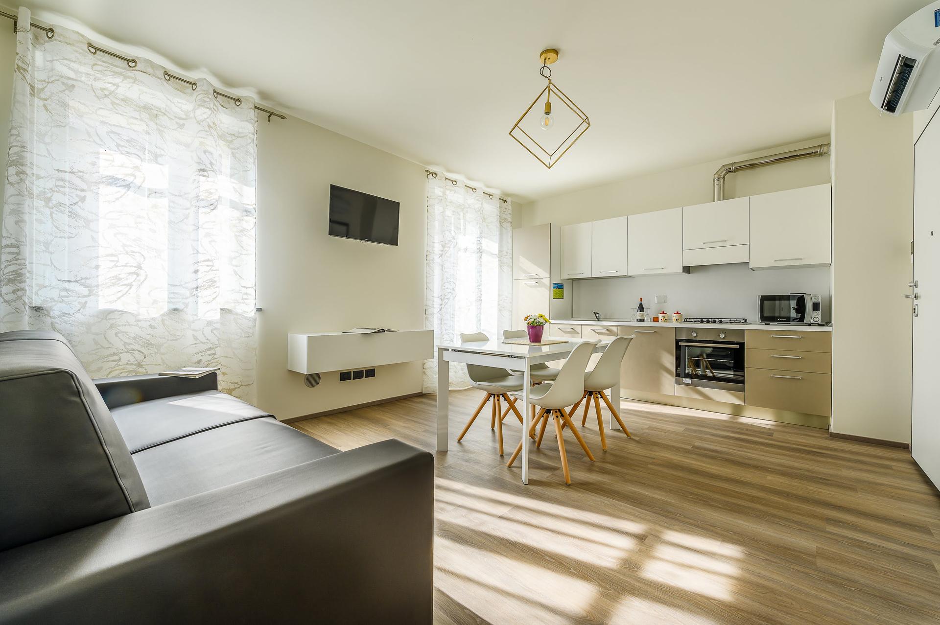 Appartamenti attrezzati in residence